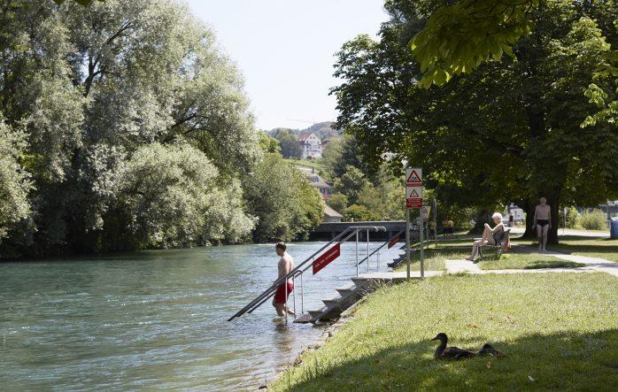 Eine wahre Naturoase im Stadtgebiet ist Werdhölzli - die besten Badis in Zürich