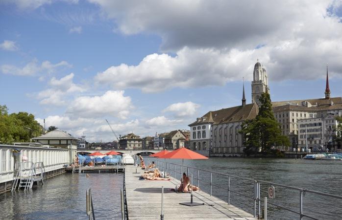 Das schönste Schwimmbad in Zürich steht nur Frauen offen