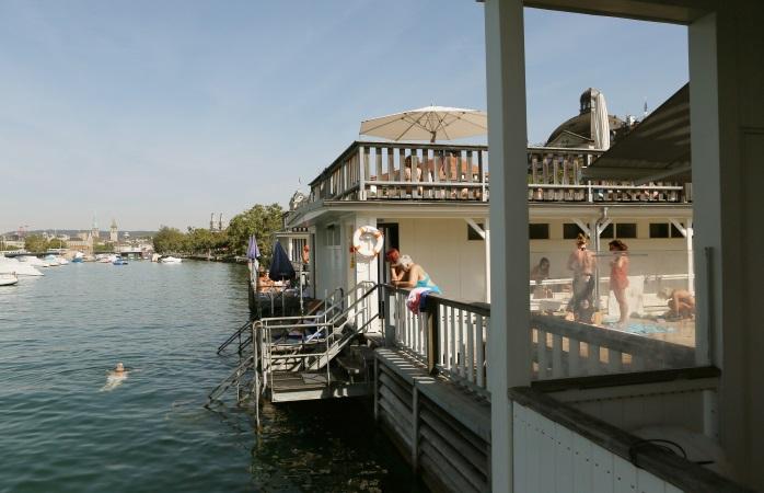 Sauna- und Schwimmspass am Zürichsee - Badi Utoquai